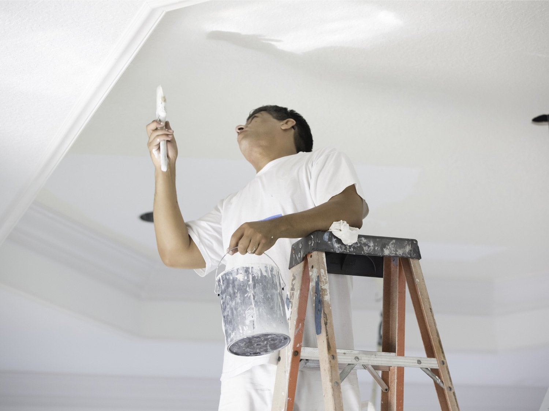 peinture raccord mur plafond Peindre un plafond
