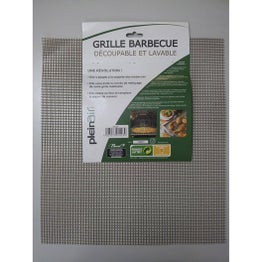 Grille rectangle de barbecue