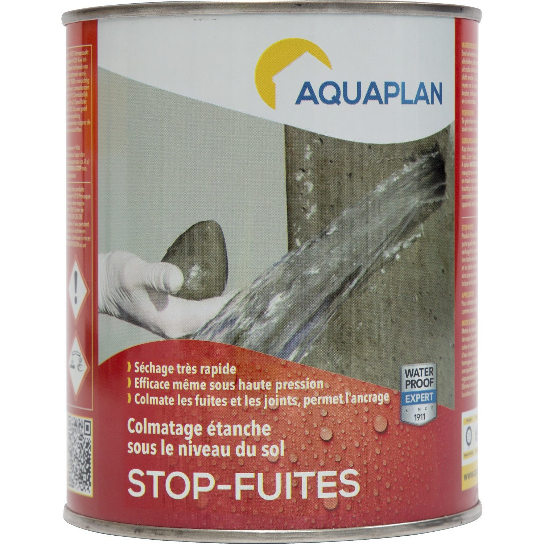 mortier stop fuite iko stop fuites 1 kg gris leroy merlin. Black Bedroom Furniture Sets. Home Design Ideas