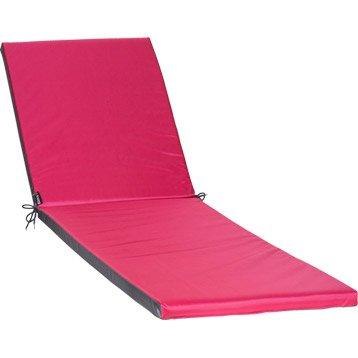 Coussin de bain de soleil rose Pratik JARDIN PRIVE