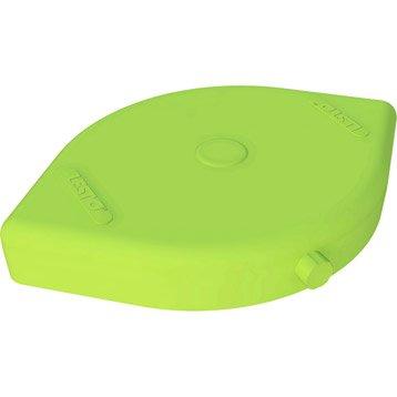 Dalle pour parasol excentré à lester Lesto vert