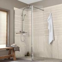 Une paroi transparente pour votre douche épurée et moderne