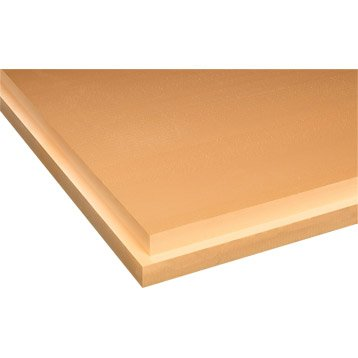Panneau en polystyrène extrudé, Xps Cuber SL TOPOX  1.25x 0.6m, Ep.100mm, R=2.8
