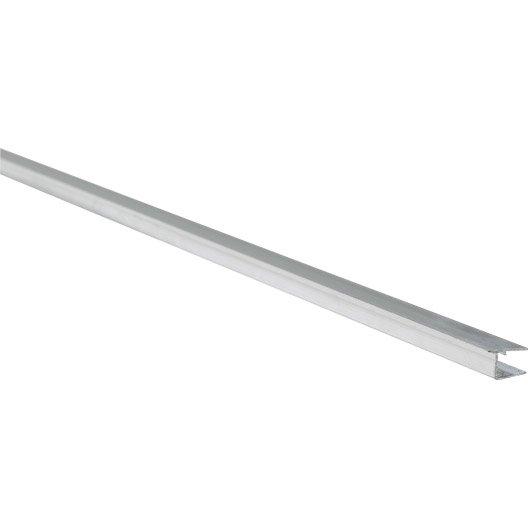 profil obturateur pour plaque ep 16 mm aluminium l m leroy merlin. Black Bedroom Furniture Sets. Home Design Ideas
