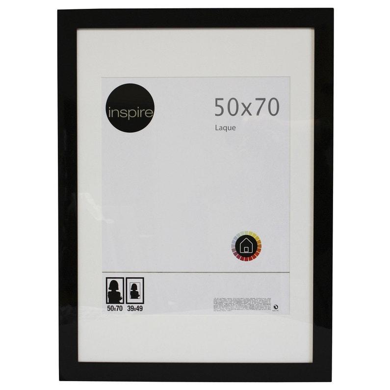 Cadre Laqué 50 X 70 Cm Noir Noir N 0