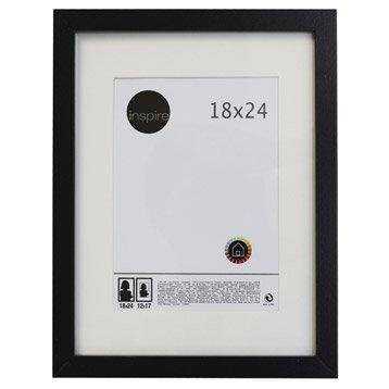 Cadre Lario, 18 x 24 cm, noir-noir n°0