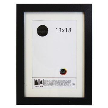 Cadre bois INSPIRE Lario, 13 x 18 cm, noir noir n°0