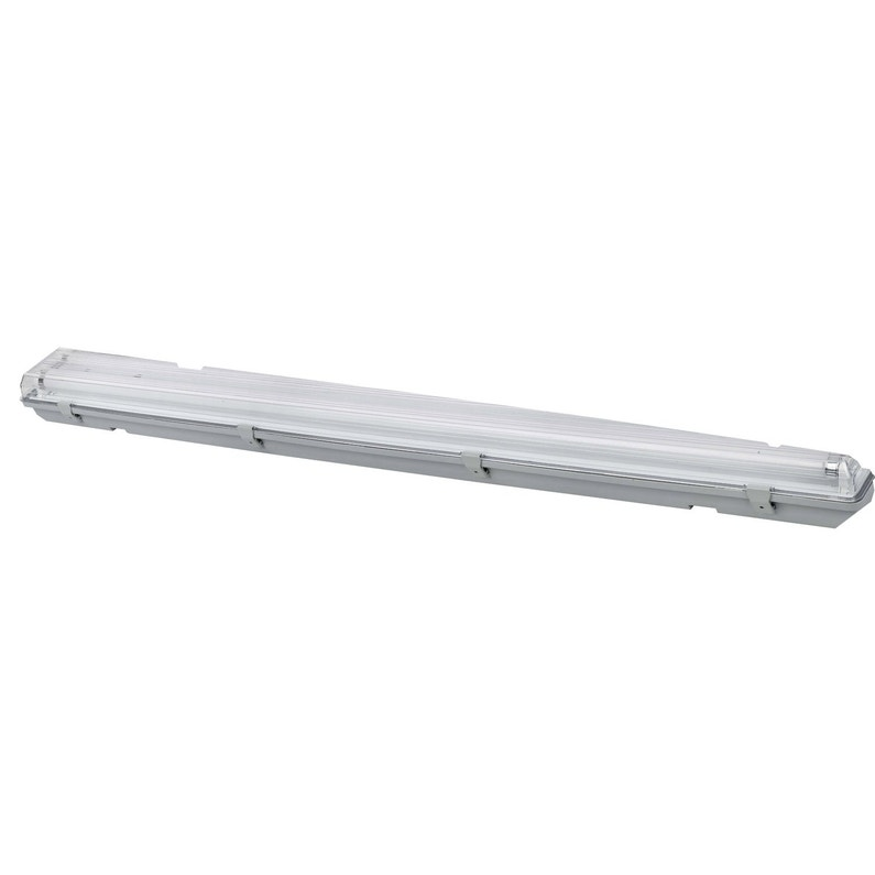 Réglette Etanche, Fluorescent à double culot 2 x 36 W, G13 blanc froid