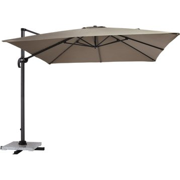 parasol parasol tonnelle et voile d 39 ombrage leroy merlin. Black Bedroom Furniture Sets. Home Design Ideas