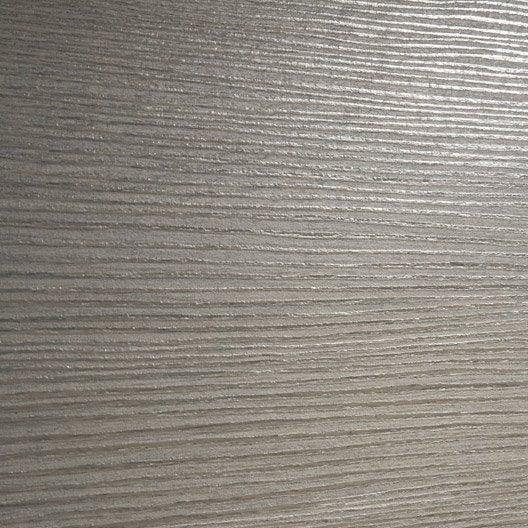 porte sans b ti m dium mdf rev tu gris londres x cm poussant droit leroy merlin. Black Bedroom Furniture Sets. Home Design Ideas