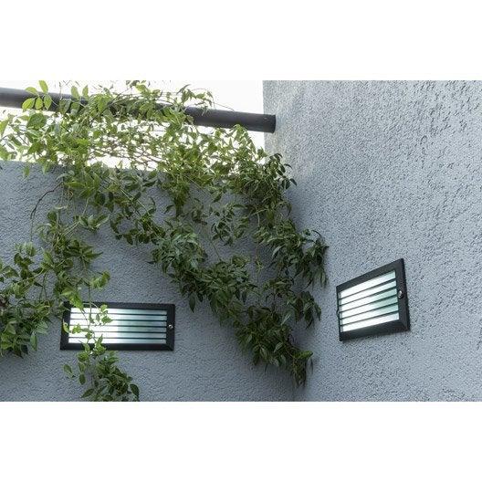 Spot encastrer ext rieur flint fonte d 39 aluminium for Spot exterieur terrasse
