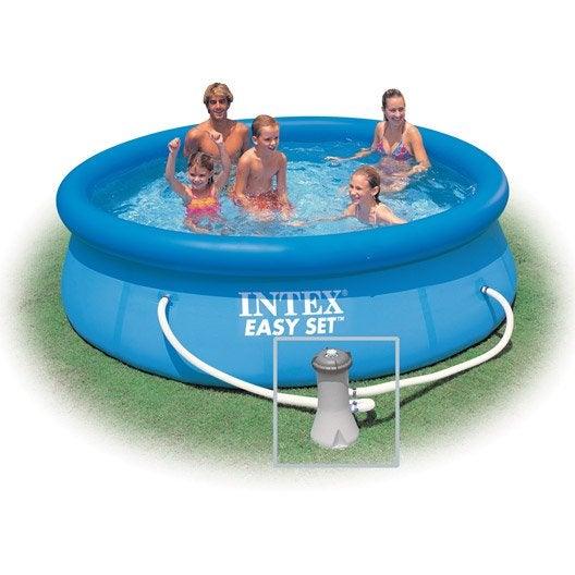 piscine hors sol autoportante tubulaire diam intex easy set. Black Bedroom Furniture Sets. Home Design Ideas