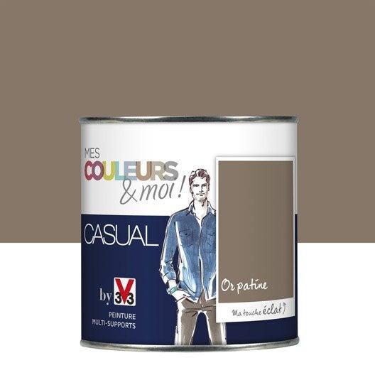 Peinture or patin v33 mes couleurs et moi casual 0 5 l for Patine peinture acrylique