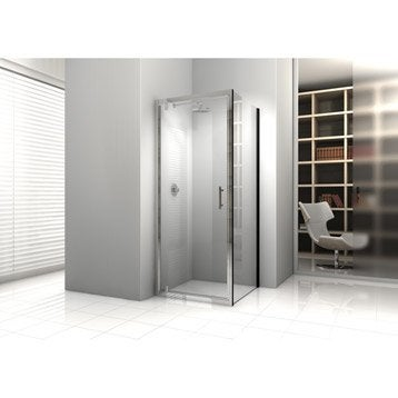 paroi et porte de douche leroy merlin. Black Bedroom Furniture Sets. Home Design Ideas