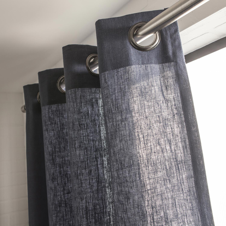 rideau lin bleu zakelijksportnetwerkoost. Black Bedroom Furniture Sets. Home Design Ideas