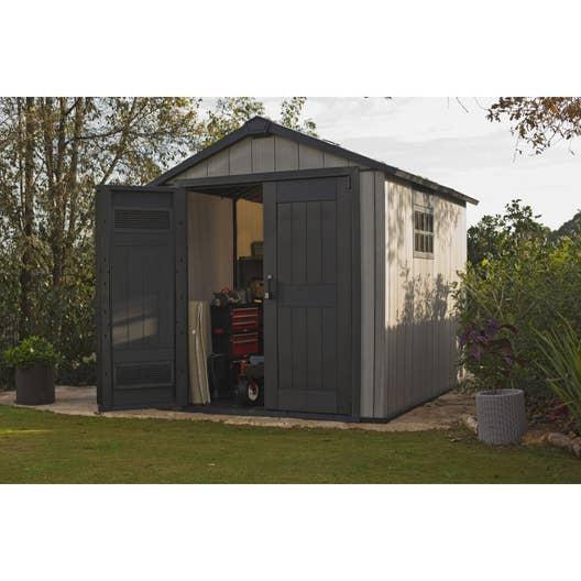 abri de jardin r sine oakland 759 m mm leroy merlin. Black Bedroom Furniture Sets. Home Design Ideas