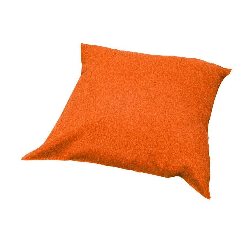 Coussin orange Lola, 43 x 43 | Leroy Merlin