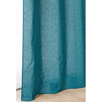 rideau rideau occultant thermique tamisant au meilleur prix leroy merlin. Black Bedroom Furniture Sets. Home Design Ideas