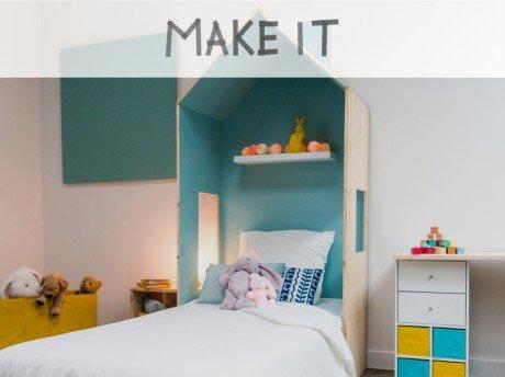 DIY : Fabriquer une cabane de lit