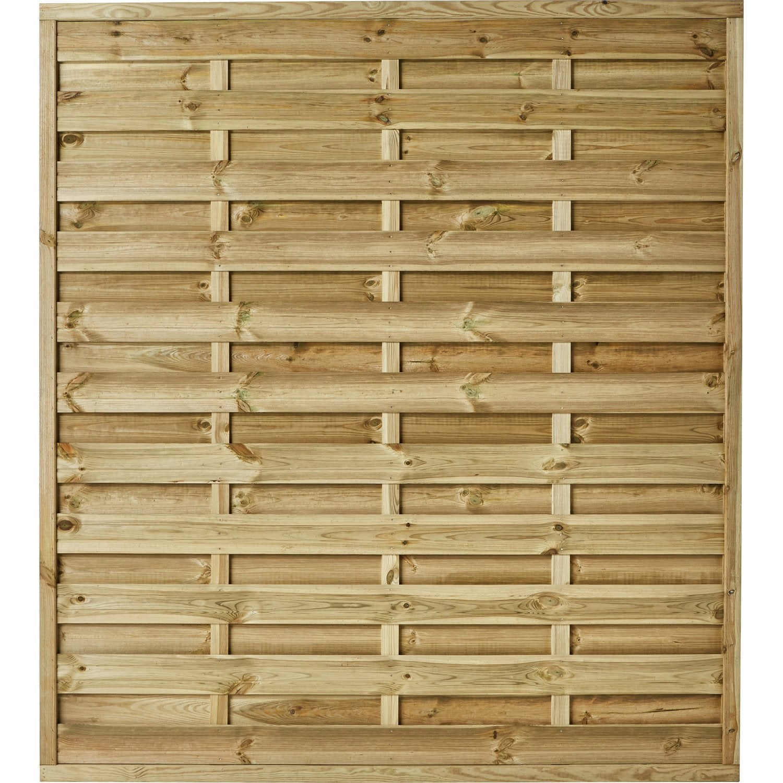 panneau bois occultant anna l 180 x h 200 cm naturel leroy merlin. Black Bedroom Furniture Sets. Home Design Ideas