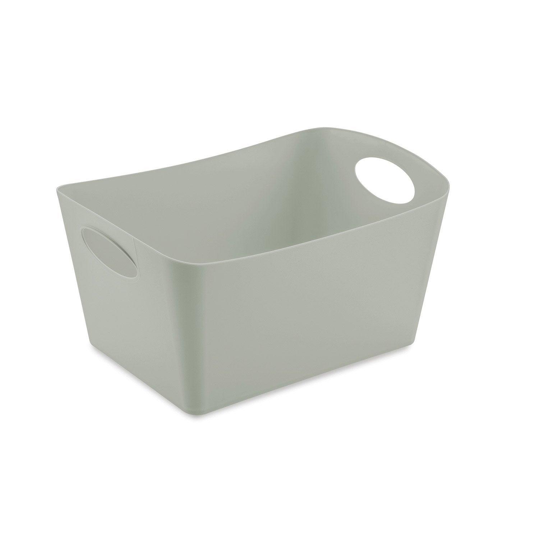 Panier plastique gris