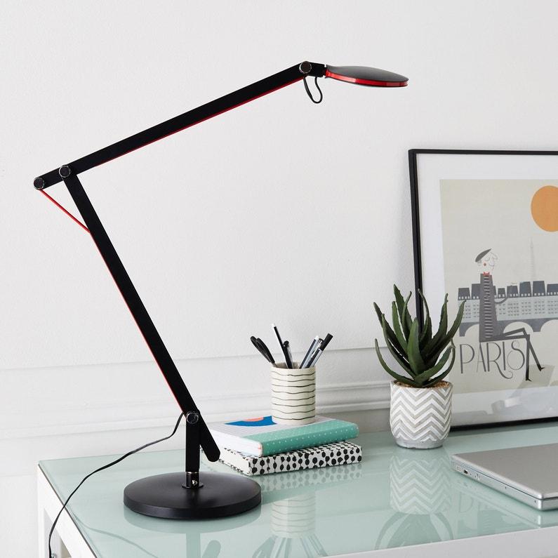 Lampe Usb Led Intégrée à Pince Noir Led Buro Inspire