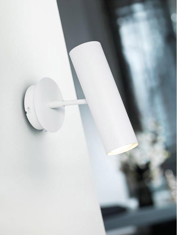 Designer DEL Lampe murale format Nordlux blanc variateur murale éclairage lampe