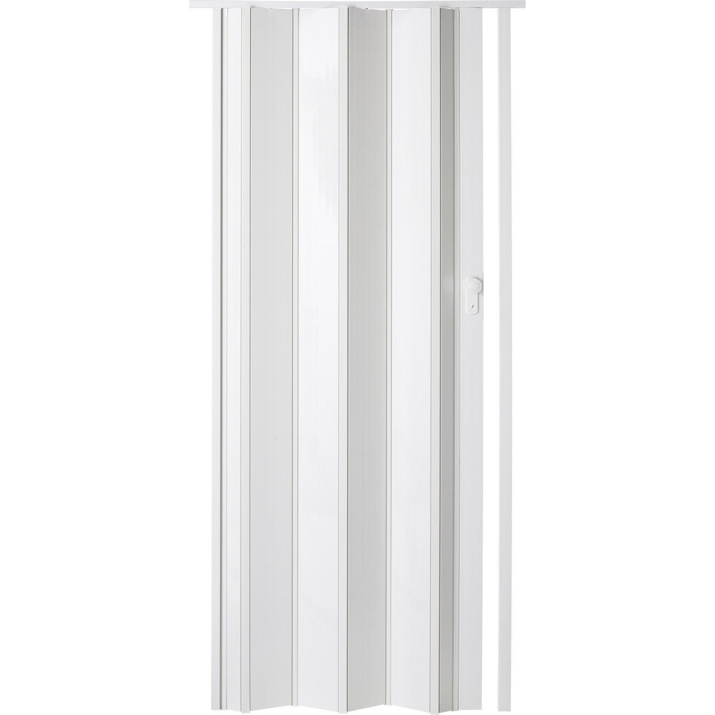 Porte Extensible Ibiza Blanc Brillant 205 X 85 Cm Epais D Une