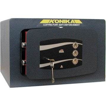 Coffre-fort haute sécurité à combinaison STARK konika 3245tk H33 x l50 x P40 cm