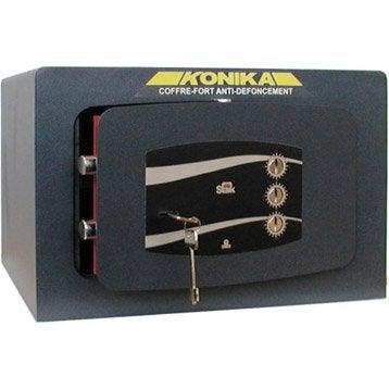 Coffre-fort haute sécurité à combinaison STARK Konika, H33xl50xP40cm, 49L