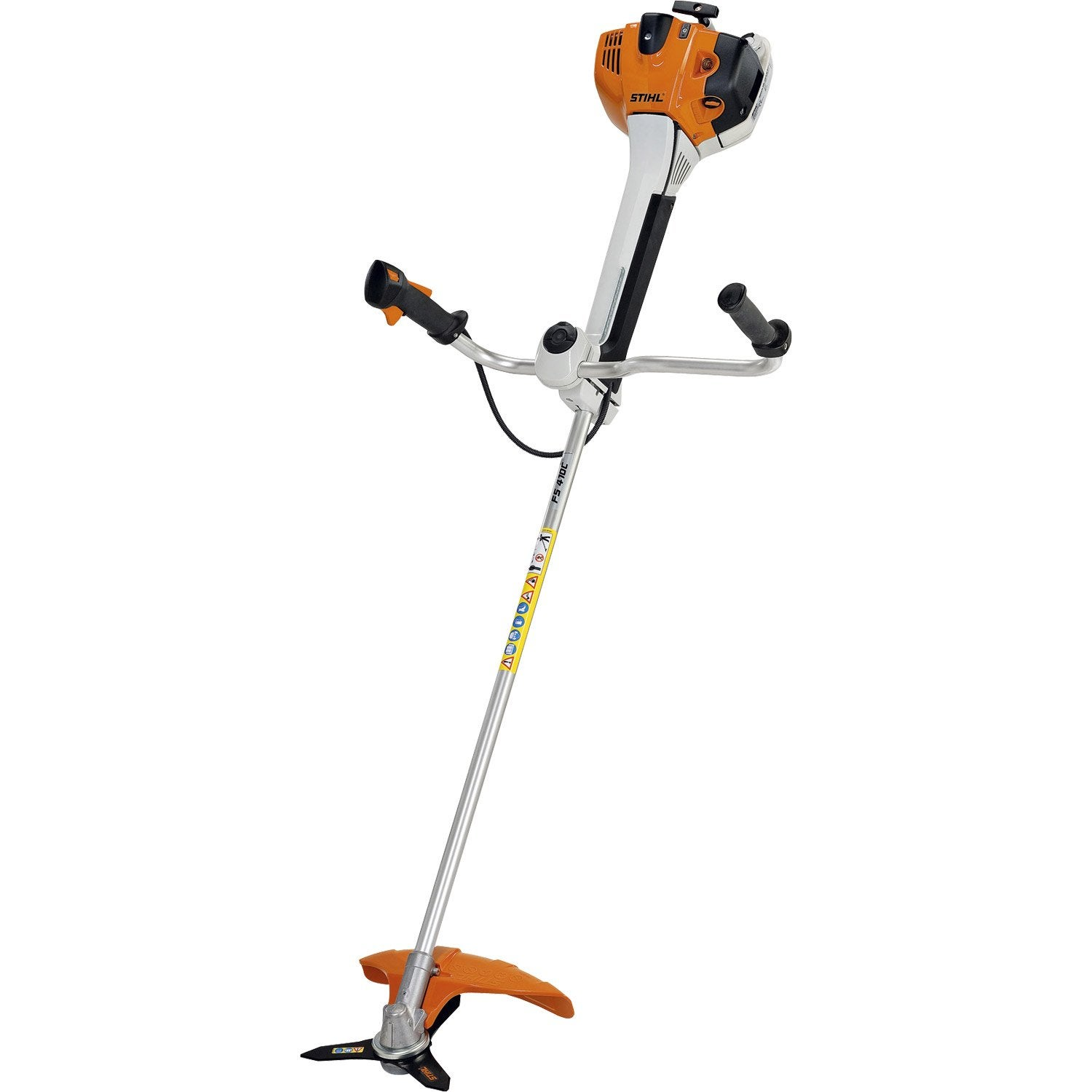 d broussailleuse essence stihl fs 410 ce 41 6 cm cm leroy merlin. Black Bedroom Furniture Sets. Home Design Ideas