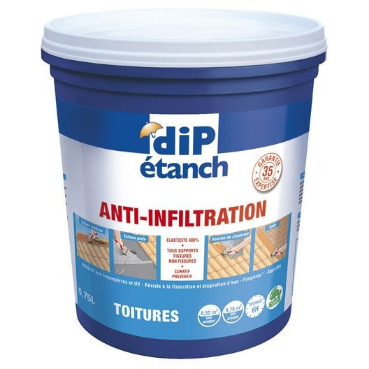 Rev tement d 39 tanch it anti infiltration dip terre cuite leroy - Dip etanche anti infiltration ...