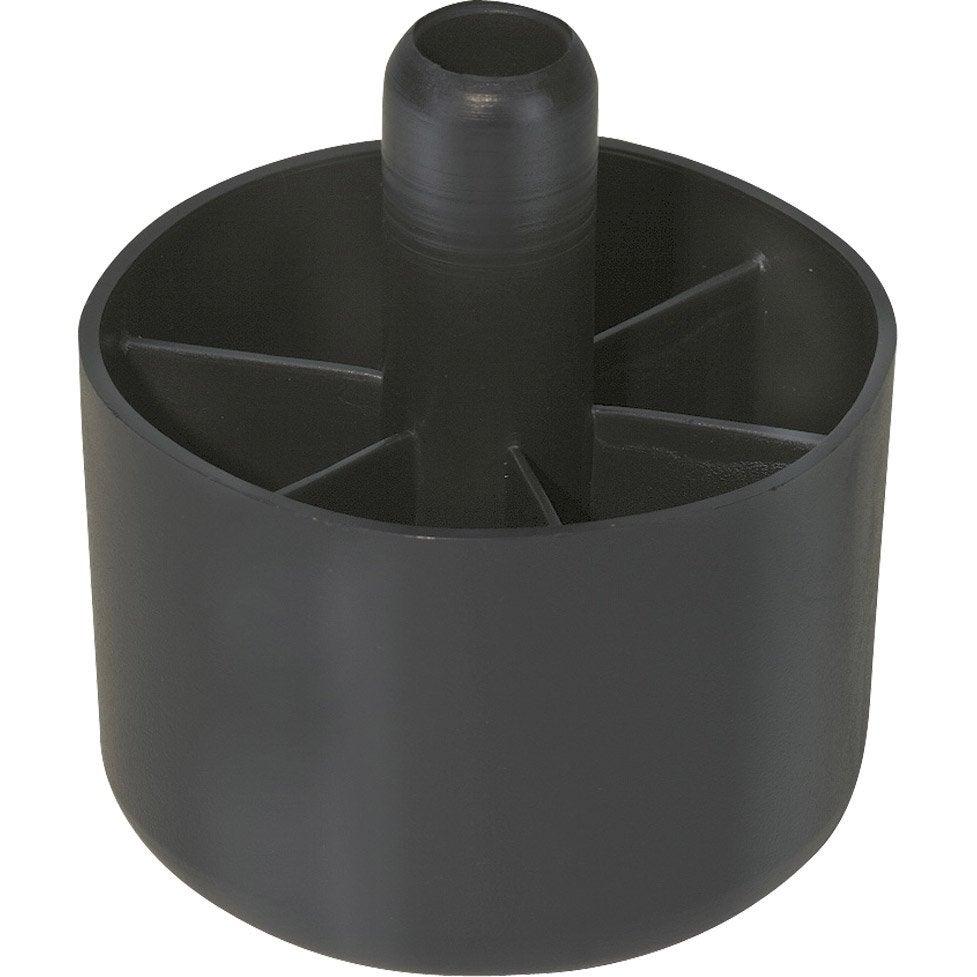 Patin Plastique A Emboiter Diam 50 X H 34 Mm Leroy Merlin
