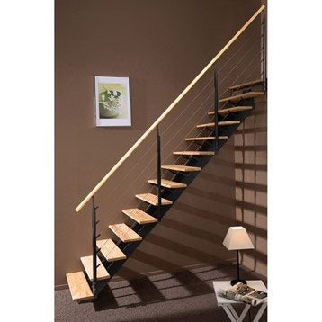 rambarde rampe d escalier garde corps et main courante leroy merlin. Black Bedroom Furniture Sets. Home Design Ideas