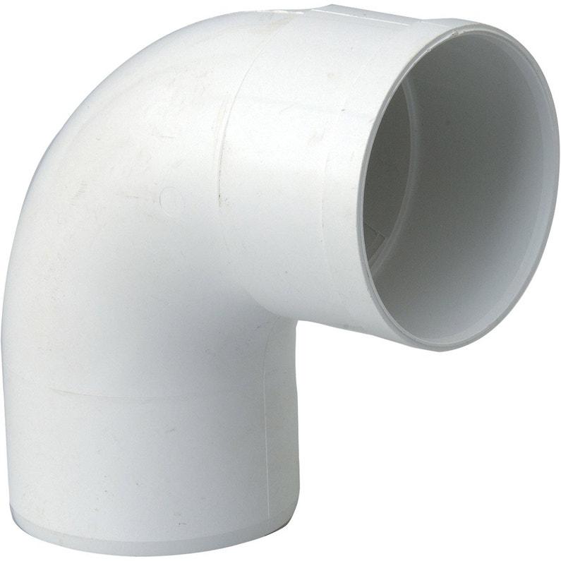 Coude 873 Pvc Blanc Girpi Dév25 Cm Diam80 Mm