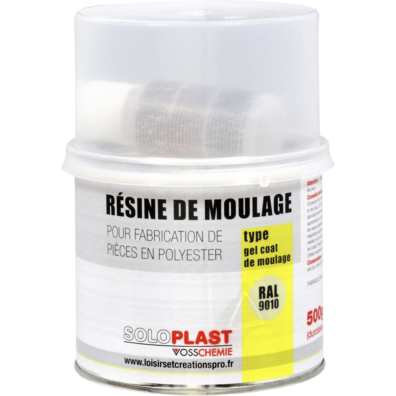 R sine gel coat soloplast 500g leroy merlin for Piscine coque polyester leroy merlin