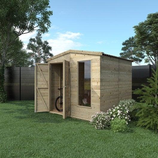 abri de jardin bois m tal r sine chalet de jardin au. Black Bedroom Furniture Sets. Home Design Ideas