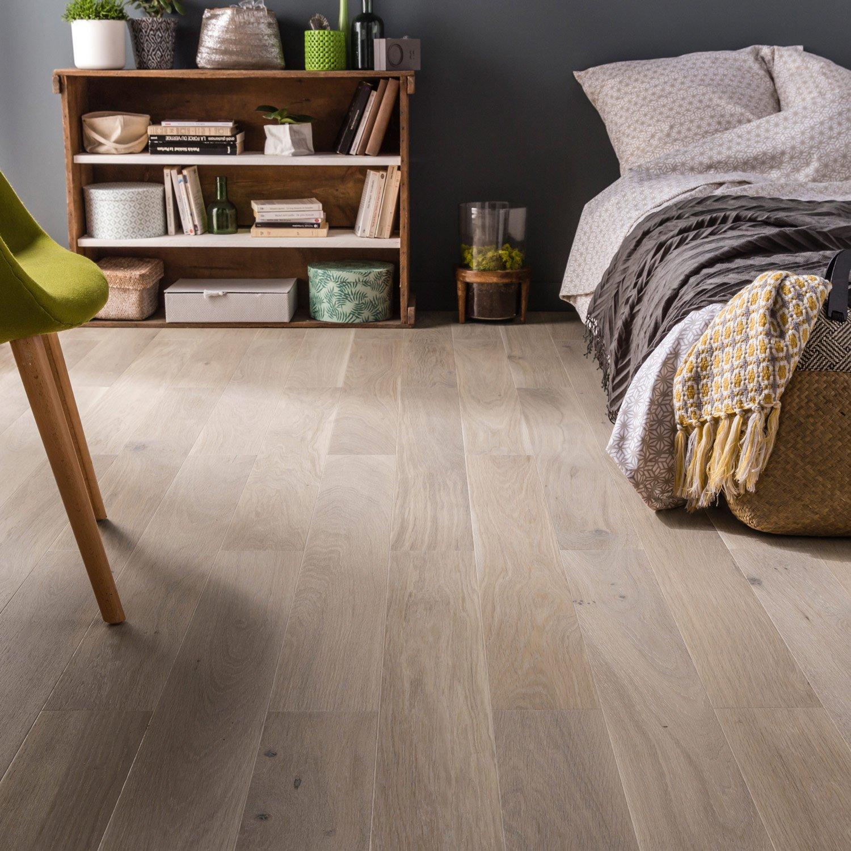 parquet contrecoll ch ne blanchi vitrifi l barlinek leroy merlin. Black Bedroom Furniture Sets. Home Design Ideas
