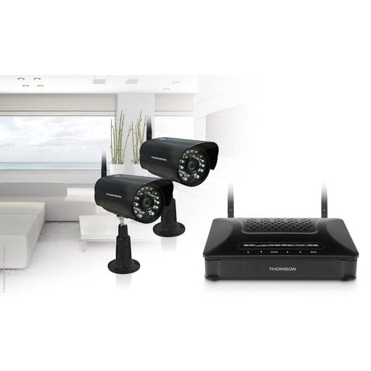 kit camera de surveillance sans fil avec enregistrement leroy merlin collections photos camera. Black Bedroom Furniture Sets. Home Design Ideas