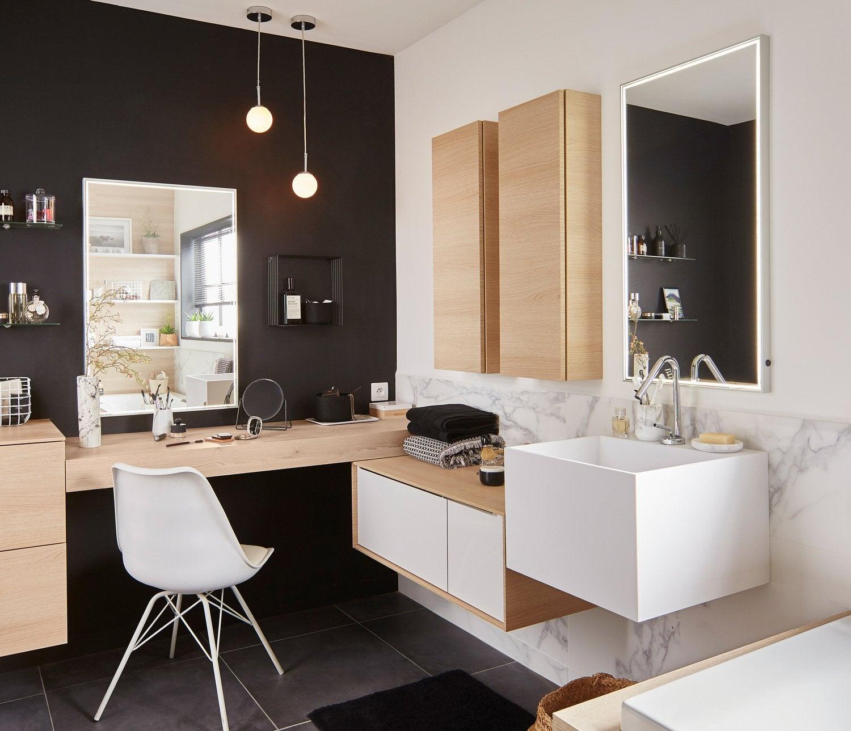 Une salle de bains pratique et confortable | Leroy Merlin