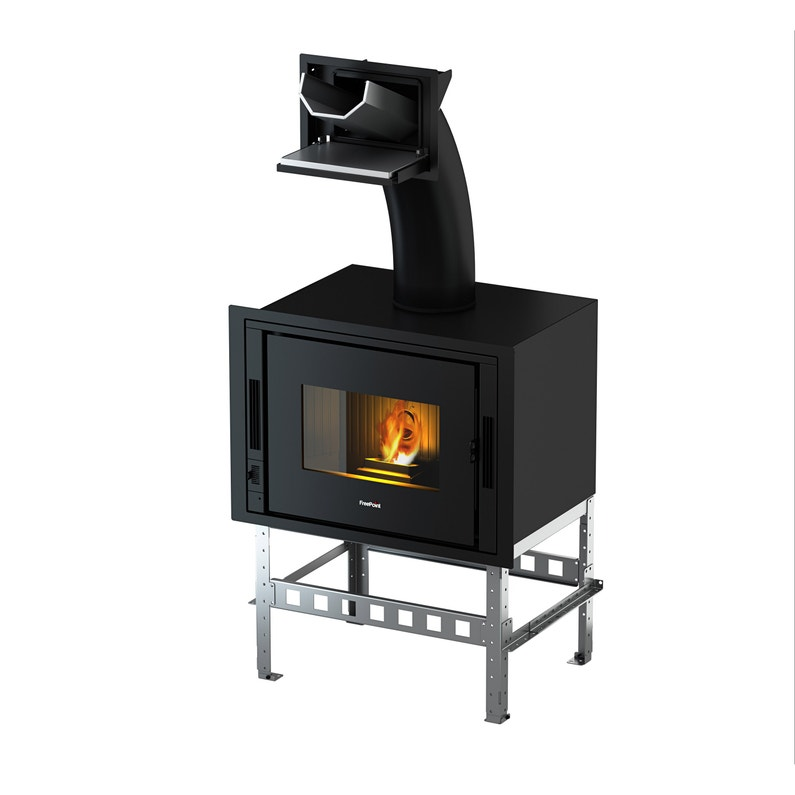 Estufa De Pellets De Aire Hergom Adda 8 Leroy Merlin Home Appliances Wood Stove Wood
