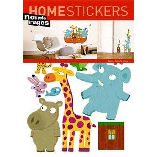 sticker arche de no 49 x 69 cm leroy merlin. Black Bedroom Furniture Sets. Home Design Ideas