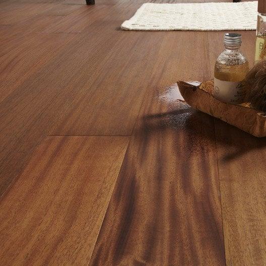 parquet contrecoll volute largeur l acajou royal huil leroy merlin. Black Bedroom Furniture Sets. Home Design Ideas