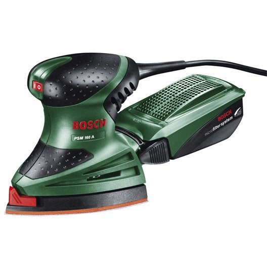 Ponceuse multifonction filaire BOSCH Psm 160a, 160 W | Leroy Merlin