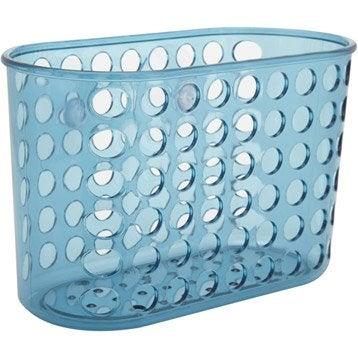 Etagère de bain / douche à ventouser, bleu, Play