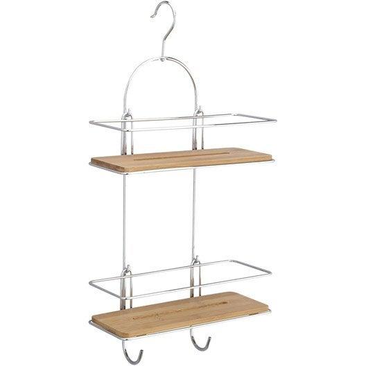 etag re de bain douche suspendre au combin chrom leroy merlin. Black Bedroom Furniture Sets. Home Design Ideas