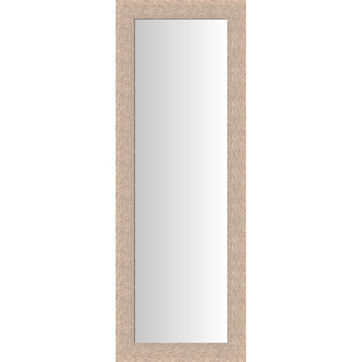 Miroir Dublin chªne clair 40x140 cm