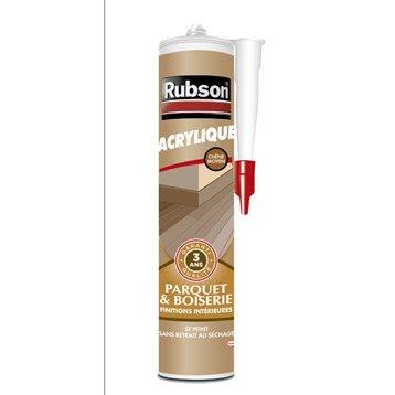 Mastic d'étanchéité RUBSON mur intérieur Finition 280 ml chêne moyen