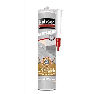 Mastic d'étanchéité RUBSON mur intérieur Finition 280 ml gris clair