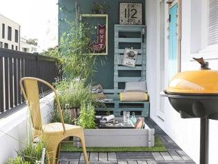 Un balcon, 3 possibilités